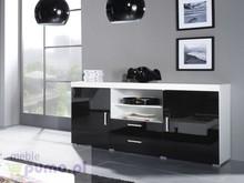 Dane szczegółowe Opis produktu Kod produktu 2171 Materiał Płyta meblowa Kolor Czarny połysk Wymiary szerokość: 164 cm wysokość: 80 cm głębokość:...