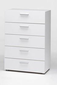 PEPE komoda 5 szuflad - biały