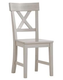 Białe romantyczne krzesło Monaco