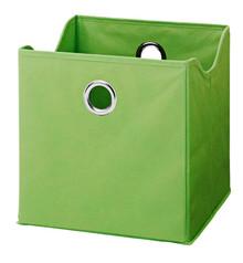 Kolorowe pudło do mebli - zielony