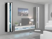 Dane szczegółowe Opis produktu Kod produktu 7870 Materiał płyta meblowa Kolor czarny/biały połysk Wymiary szerokość: 40 cm wysokość: 180 cm...