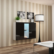 Dane szczegółowe Opis produktu Kod produktu 7940 Materiał płyta meblowa Kolor biały - czarny połysk Wymiary szerokość: 120 cm wysokość: 90 cm...