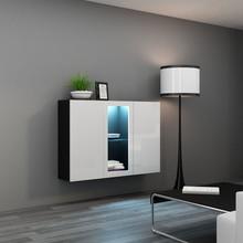 Dane szczegółowe Opis produktu Kod produktu 7941 Materiał płyta meblowa Kolor czarny - biały połysk Wymiary szerokość: 120 cm wysokość: 90 cm...