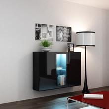 Dane szczegółowe Opis produktu Kod produktu 7942 Materiał płyta meblowa Kolor czarny Wymiary szerokość: 120 cm wysokość: 90 cm głębokość: 38 cm...