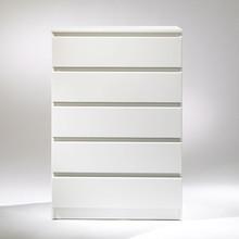 NAIA komoda szeroka 5S biała - biały
