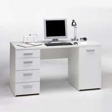 Biurko gabinetowe białe Kent