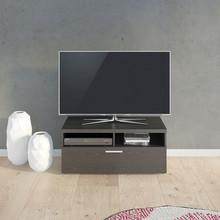 - prosty nowoczesny design<br />- półki na sprzęt RTV<br />- szuflady z metalowymi prowadnicami<br />- wykonany z białej matowej...