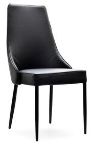 Nowoczesność w najlepszym wydaniu!  Krzesło Bolzano to absolutnie wyjątkowy mebel. Tu bowiem nie tylko siedzisko i oparcie obite zostało ekologiczną...
