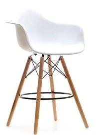 Nowy wymiar piękna!  Krzesło barowe EPS WOOD w wyjątkowy sposób łączy ponadczasową klasykę ze współczesnym designem. Siedzisko tego mebla...