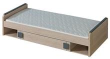 Funkcjonalność i wygoda!  W serii Gumi znajdziemy dwa proste łóżka. Jedno z nich jest zwyczajnym pojedynczym meblem, drugie natomiast posiada wysuwany...