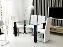 Ares to bardzo nowoczesny, szklany stół, który sprawdzi się w wielu wnętrzach.  Będzie rewelacyjnie wyglądał w aranżacjach nowoczesnych, zarówno...