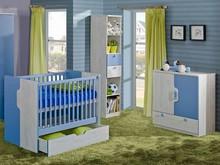 Idealne rozwiązanie dla Twojego wnętrza!  Meble z serii Nuki dostępne są w dwóch sympatycznych kolorach: niebieskim dla chłopca i soczystym malinowym...