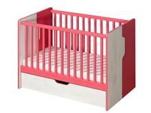 Funkcjonalność w lekkim stylu!  Proste i bardzo wygodne łóżeczko dla dzieci z serii Nuki to znakomite rozwiązanie, które spodoba się szczególnie...