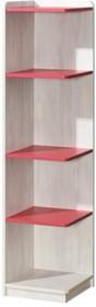 Idealne rozwiązanie dla Twojego wnętrza!  Regał z serii Nuki dostępny jest w dwóch wariantach. W pierwszym mamy wysoki mebel z dwiema szufladkami i...
