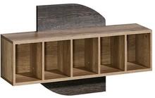 Praktyczność ukazana w niezłym stylu! Półki wiszące Romero to kilka rodzajów niezwykle praktycznych mebli, które pozwolą na estetyczne i bardzo...