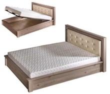 Wygoda i spokojny sen!  Łóżko Verto to niezwykle stylowy mebel, który przypadnie do gustu nawet najbardziej wymagającym osobom. Cechuje się prostą,...