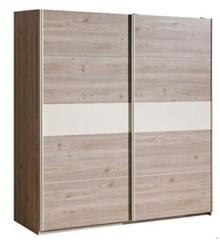 Komfort i lekkość! Dwudrzwiowa szafa Verto V20 to niezwykle praktyczny mebel. Pojemne półki pomieszczą całą naszą garderobę i pozwolą na zachowanie...
