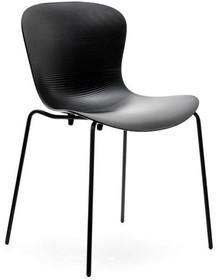 Praktyczność i elegancja!  Map to minimalistyczne, bardzo nowoczesne krzesło o praktycznej kolorystyce. Bez trudu można je wkomponować do wnętrz...