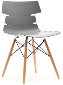 Nowoczesny design!  Nietuzinkowe krzesło Zac w bardzo gustowny sposób łączy nowoczesny styl z klasycznym. Znajdziemy tu stylowe, drewniane nogi, które...