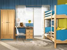 Najlepsze rozwiązanie dla Twojego wnętrza! Zestaw 2 z serii Trio to praktyczne rozwiązanie do każdego pokoju dziecięcego. W zestawie znajdziemy piętrowe...