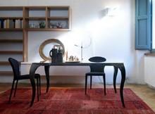 Stół BOND podstawa stołu została wykonana ze specjalnej masy plastycznej polikarbonatu lakierowanego na czarny lub biały kolor. blat stołu jest szklany,...