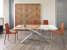 Stół PECHINO zaprojektowany został dla ludzi, którzy cenią sobie luksus i nowoczesny wygląd. Ma on rozmiar 200x106 cm. Blat stołu jest wykonany z...
