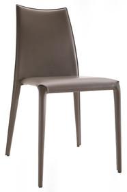 Włoskie krzesło z wyprofilowanym oparciem MISS MIDJ