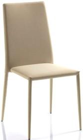 """Krzesło """"OPTIMA CU"""", oparcie profilowane,w całości obszywane skórą regenerowaną twardą. Krzesło również występuje w..."""