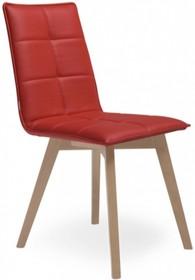 Krzesło IRIS WOOD ma drewniany stelaż wykonany z drewna bukowego. Stelaż dostępny jest w trzech kolorach: buk naturalny, buk wybarwiany na wenge,...