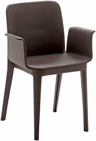 Krzesło NENE PR-SF jest w całości tapicerowane miękkimi materiałami do wyboru tj.:<br /> - eko skórą i tkaniną kategorii C,<br /> -...