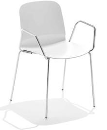 Włoske krzesło z podłokietnikami LIU P-R MIDJ