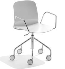 Krzesło włoskie obrotowe LIU DP-R MIDJ