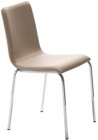 Krzesło PASSEPARTOUT Q-TS jest to krzesło o podstawie chromowanej lub metalowej malowanej na kolor aluminium lub biały. Rurki tego stelaża, który...