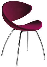 Krzesło TWIST dostępne jest w kilku opcjach: siedziska i stelaża. Stelaż fotela wykonany jest z metalu, dostępny jest w wersji chromowanej lub...