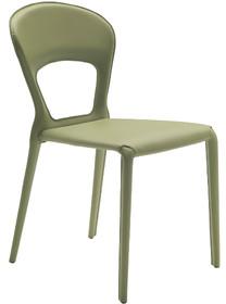 Krzesło SOFFIO nogi, siedzisko i oparcie krzesła jest profilowane oraz obszywane skórą naturalną twardą lub skórą regenerowaną...