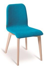 Krzesło CIAO to krzesło, którego stelaż wykonany został z drewna bukowego. Dodatkowo siedzisko i oparcie obszyte zostało tkaniną lub eko skórą....
