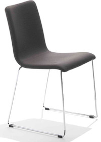 Krzesło PASSEPARTOUT T-LG jest to krzesło o podstawie chromowanej lub metalowej malowanej na kolor aluminium lub biały. Stelaż tego krzesła, który...