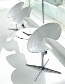 Siedzisko i oparcie ławki TWIST jest tapicerowane w skórach miękkich, eko skórach i tkaninach w bogatej gamie kolorów. Stelaż ławki...