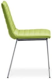 COVER S jest to kolejne włoskie krzesło sztaplowane. Krzesło ma tapicerowane siedzisko i oparcie w wysokiej jakości tkaninach i skórach. Stelaż krzesła...