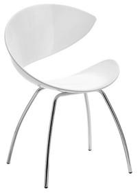 Krzesło dostępne jest w kilku opcjach: siedziska i stelaża. Jeśli chcecie Państwo zobaczyć wszystkie opcje krzesła, to proszę w wyszukiwarce wpisać...
