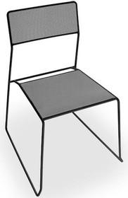 Krzesło LOG MESH stelaż wykonany jest z metalu , siedzisko i oparcie jest wykonane jest z cieniutkiej siateczki metalowej. <br /> Podczas...