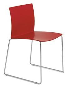 Krzesło wykonane jest ze specjalnej masy plastikowej odpornej na warunki atmosferyczne. Metalowy stelaż krzesła dodatkowo został pochromowany. Krzesło...
