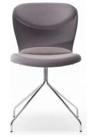 Krzesło Italia Xjest bardzo lekkie w formie i dosłownie jeśli chodzi o wagę. Występuje w opcjach podstawy : 4 nóżki, płoza oraz podstawa...