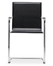 H5 S to przepiękny włoski fotel salonowy. Jego podstawa jest chromowana, wykonana z metalu. Siedzisko i oparcie obszyte prawdziwą skórą twardą,...