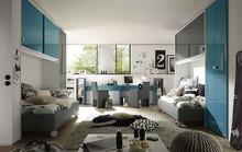 Włoski fotel LINEA COLORidealnie prezentujący się w pokoju młodzieżowym, który występuje z całym kompletem innych mebli, m.in. z meblościanką,...