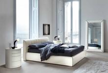 Rama oraz wezgłowie łóżka wykonane jest z drewna bukowego wypełnienie z pianki poliuretanowej o różnej gęstości, Łóżko występuje 2 wymiarach...