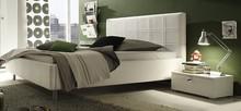 Płyta laminowana łóżka LINEA COLOR o grubości 22 mm jest w całości pokryta EKO- skórą. Łóżko dostępne jest w kolorze: białym, szarym, piaskowym,...