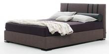 Włoskie łóżko KARMA wykonane zostało precyzyjnie z wielowarstwowego drewna topolowego. Przez to mebel jest wyjątkowo piękny. Producenci zadbali też o...