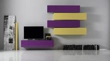 Meblościanka BOX zaprojektowana przez włoskiego projektanta Lorenzo Campanelli. Idealna do salonów i pokoi. Dzięki wielu elementom i kolorom meblościanka...
