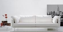 Sofa ALEX to mebel wykonany z wysokiej jakości tkanin i materiałów. Poduszki siedziskowe i oparciowe wypełniono pianką poliuretanową i obszyto...
